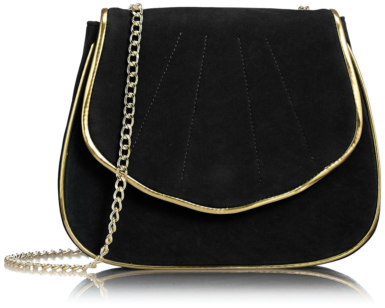 Amazon.co.jp: [リリーブラウン] Lily Brown シェル型ミニポーチ LWGB152313 9 (BLK): Amazonファッション:通販