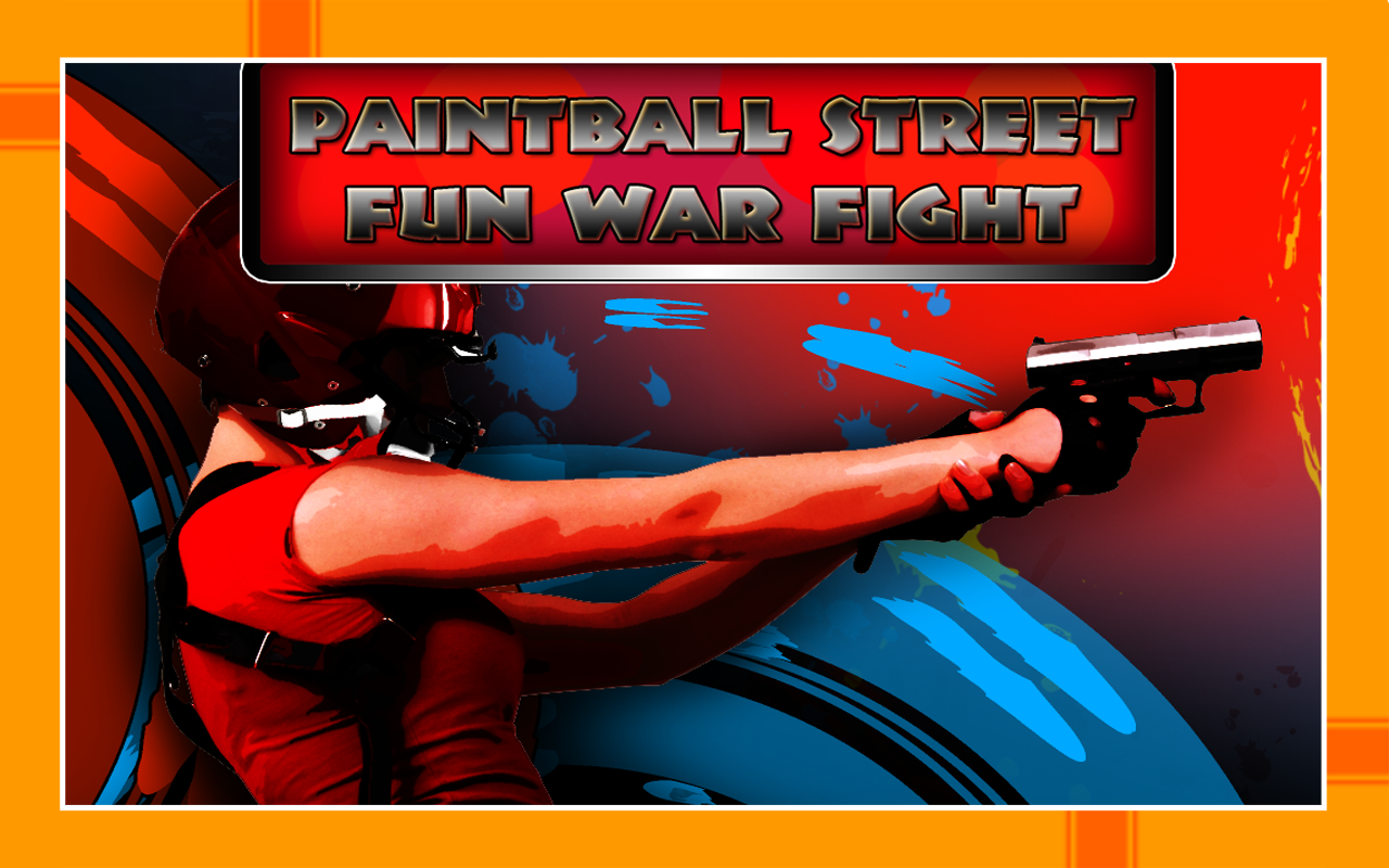 Paintball Street Fun War Fight : The Battle of the teams - Gold Edition