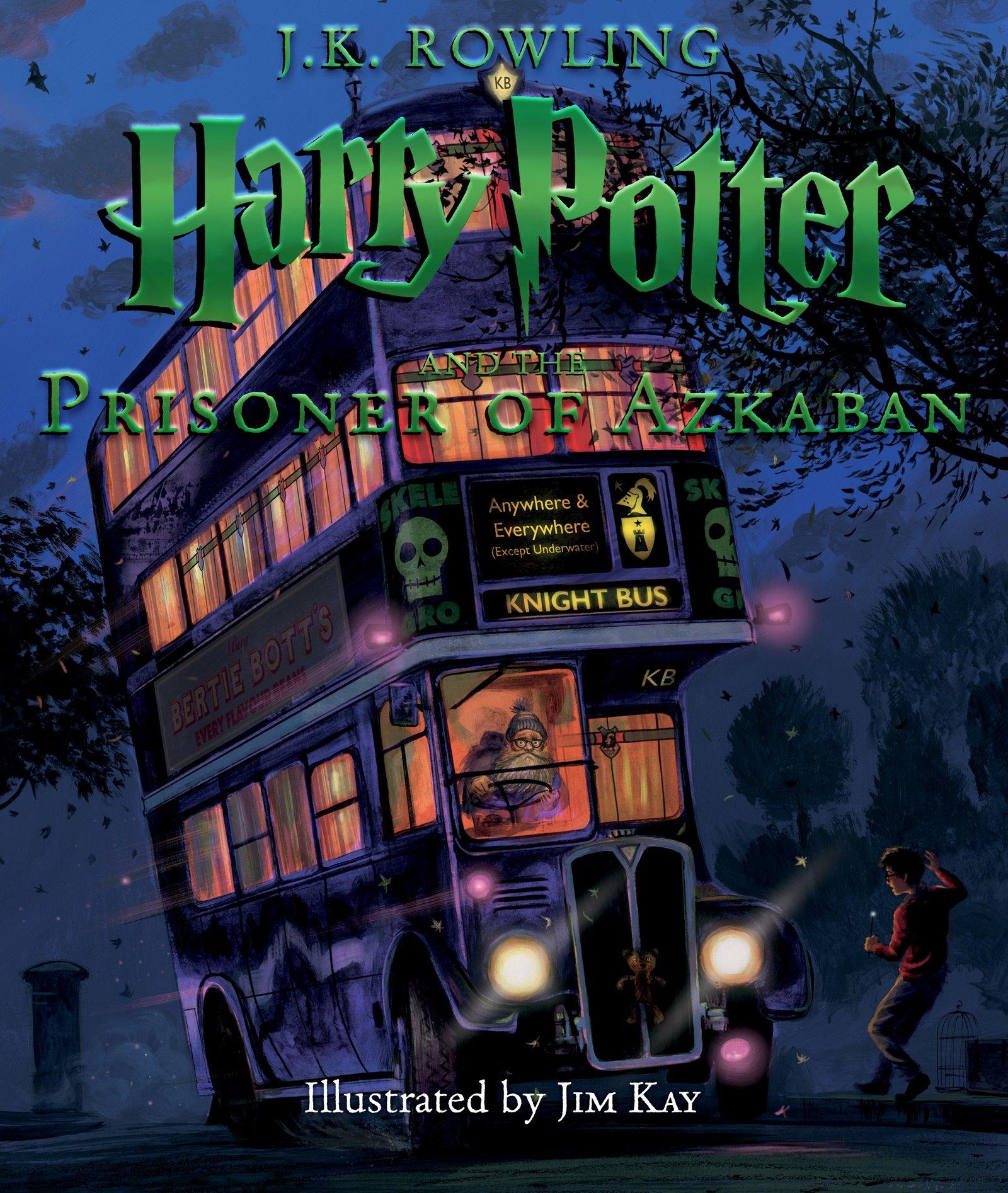 Illustrated Azkaban Prisoner Harry Potter