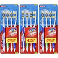 3-Pack of 4-Count Colgate Extra Clean Full Head Toothbrush (Medium)