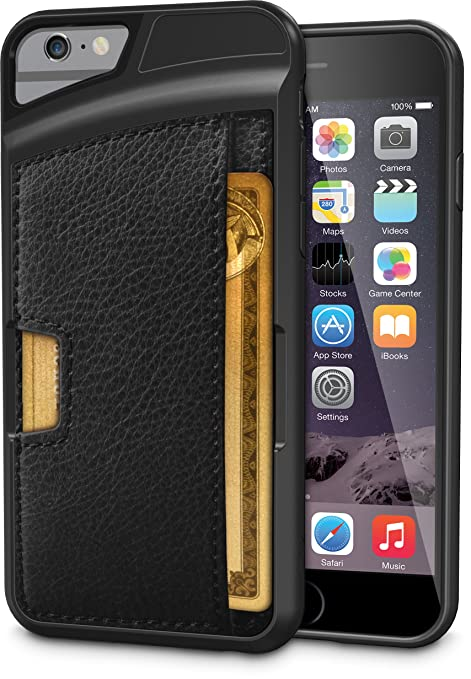 Ultra slim phone wallet case