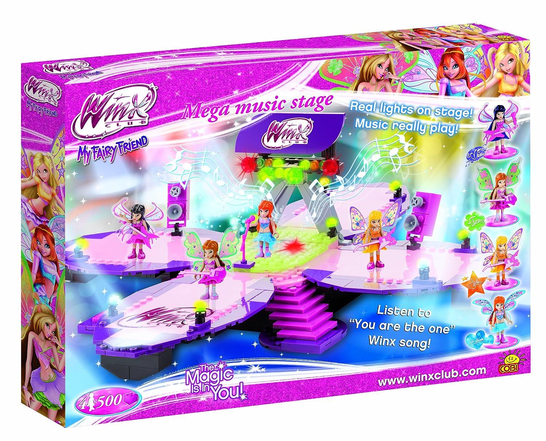 Cobi 25502 Winx Club – Mega Music Stage mit Licht und Musik online bestellen