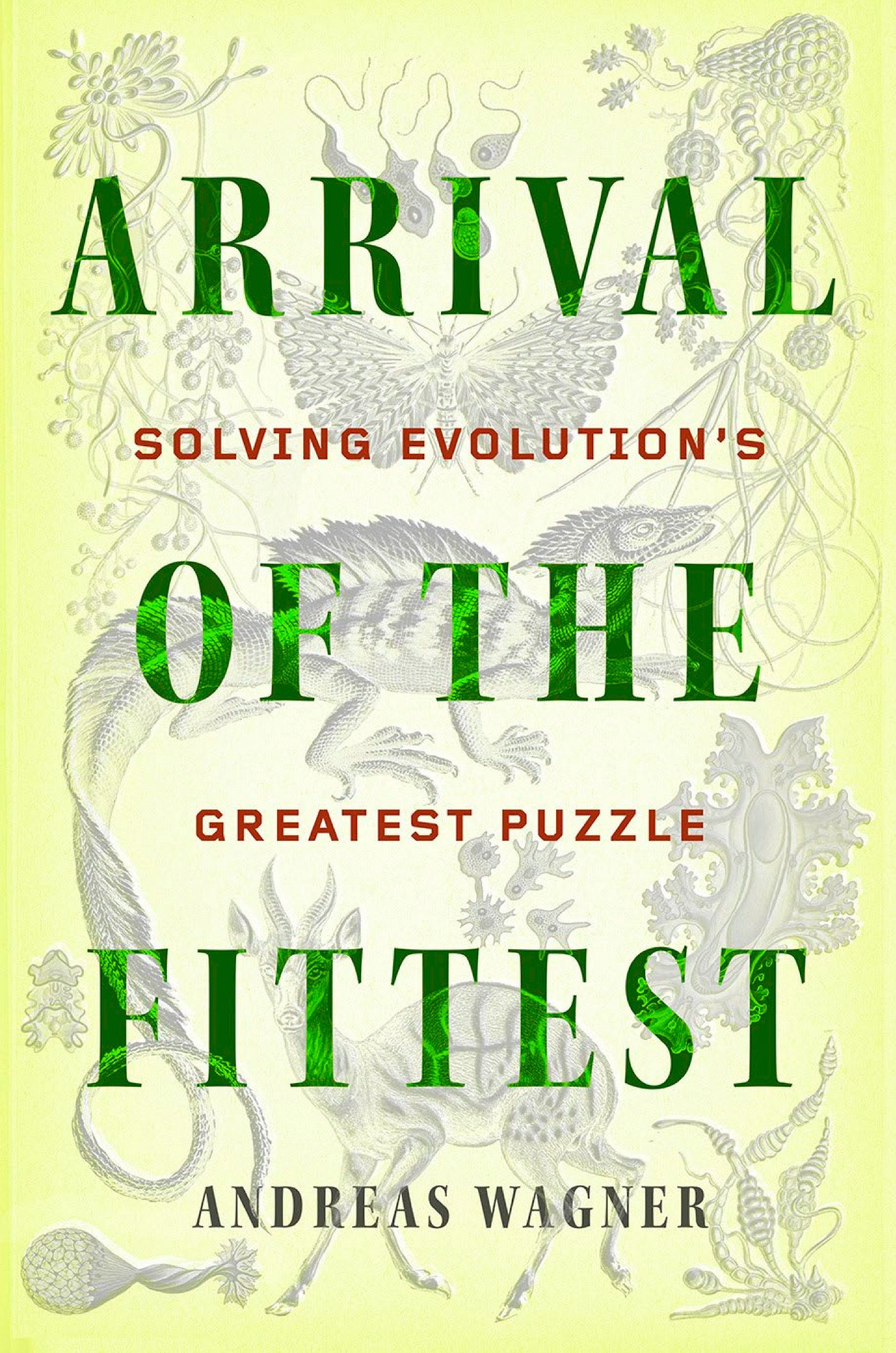 So claims a recent book arrival of the fittest by andreas wagner professor of evolutionary biology at u zurich in switzerland also associated with the