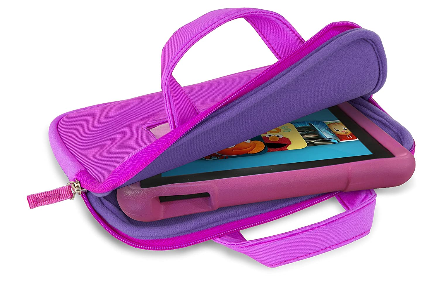 Verso Universal Tablet Sleeve - Pink/Purple
