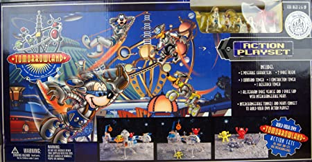 Walt Disney World - collection rare - Tomorrowland Action Playset - 34107