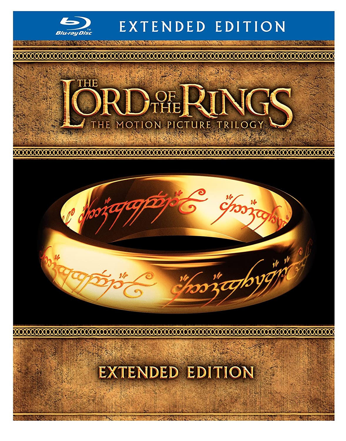Lotr Extended Edition Blu Ray Editions Blu-ray