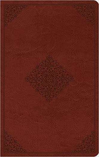 ESV Large Print Value Thinline Bible (TruTone, Tan, Ornament Design) written by ESV Bibles by Crossway