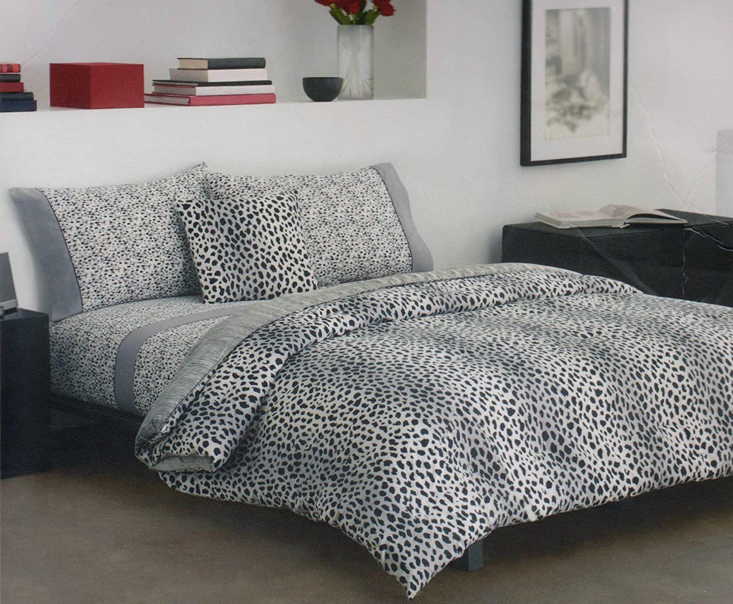 cheetah print bedding totally kids totally bedrooms kids bedroom