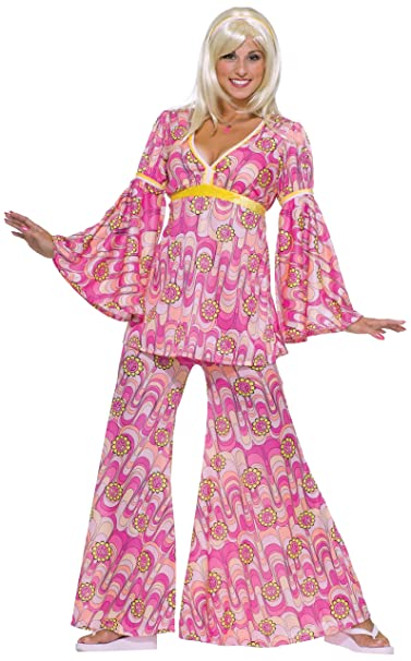 Forum Novelties Women's Flower Power Hippie 60's Costume