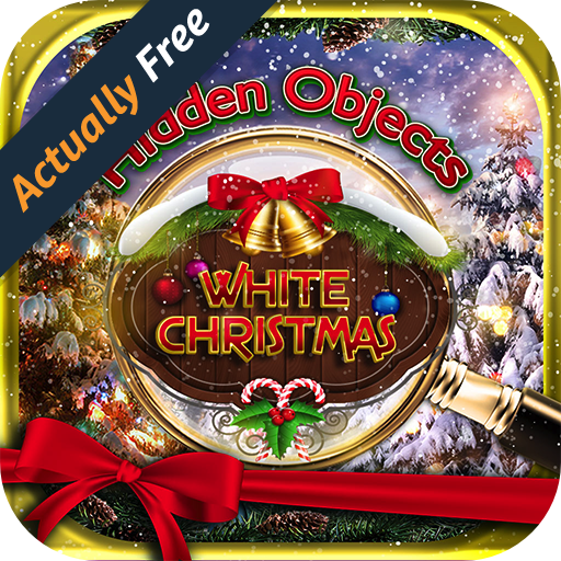 Hidden Object White Christmas Holiday - Merry Winter Celebration Santa Pic Puzzle Objects Seek & Find FREE Game (Word Pics compare prices)