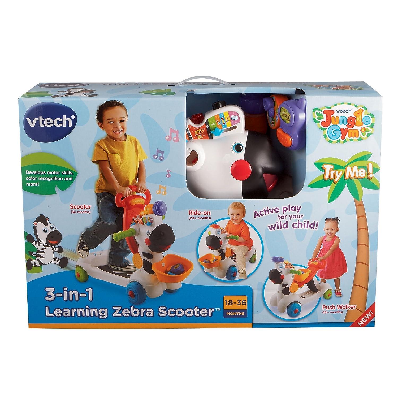 Vtech zebra scooter vt 112603 6 36m 3 in 1 price in for Bureau vtech 3 en 1