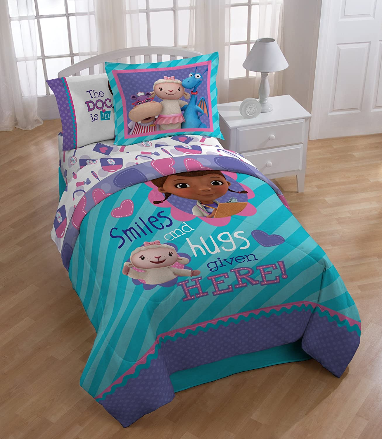 doc mcstuffins bedding totally totally bedrooms