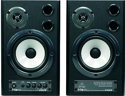 Behringer MS40 Paire d'Haut-parleurs de monitoring