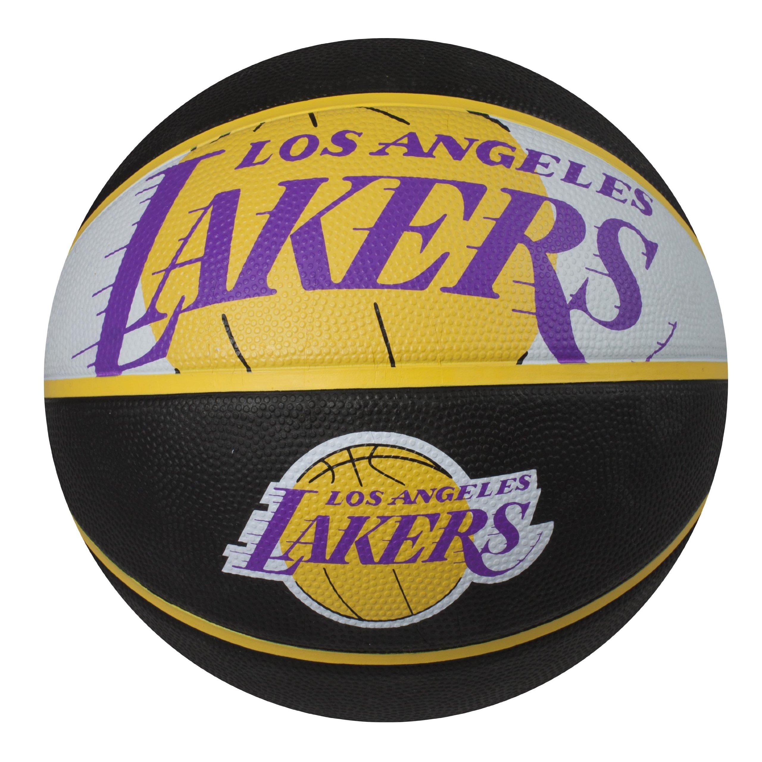 Nba Basketball Los Angeles Lakers: Rubber Team Logo LA Lakers Durable Outdoor Material