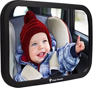 Cozy Greens Back Seat Mirror