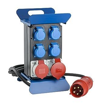 16A Stromverteiler CEE Adapter Stromverteiler Baustromverteiler Starkstrom