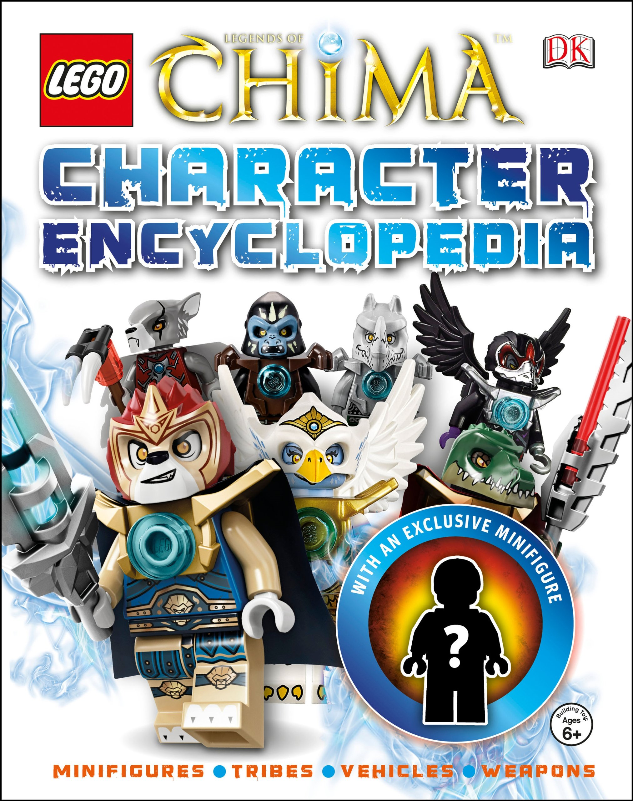 lego legends of chima character encyclopedia exclusive