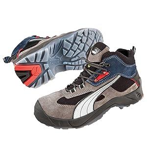 Puma Safety Sicherheitshochschuhe Rebound 3.0 Mercury Low 63.024.0 Sicherheitshalbstiefel S1P ESD SRC  Schuhe & HandtaschenKundenbewertung und Beschreibung