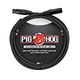 Pig Hog PHM6 High Performance 8mm XLR Microphone Cable, 6 Feet (Color: Black, Tamaño: 6 ft)
