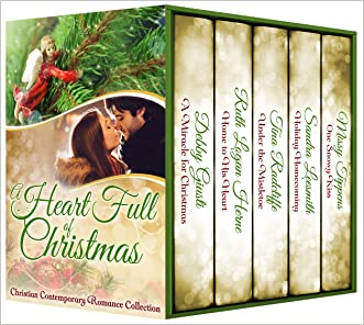 A Heart Full of Christmas, Contemporary Inspirational Holiday Romance Collection (Seeker Collection Book 7)
