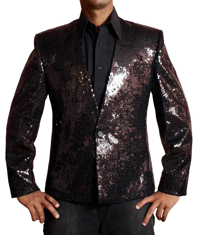 HLS Michael Jackson Billie Jean Black Sequins Jacket
