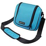AmazonBasics Travel Bag for Nintendo 2DS XL - Turquoise
