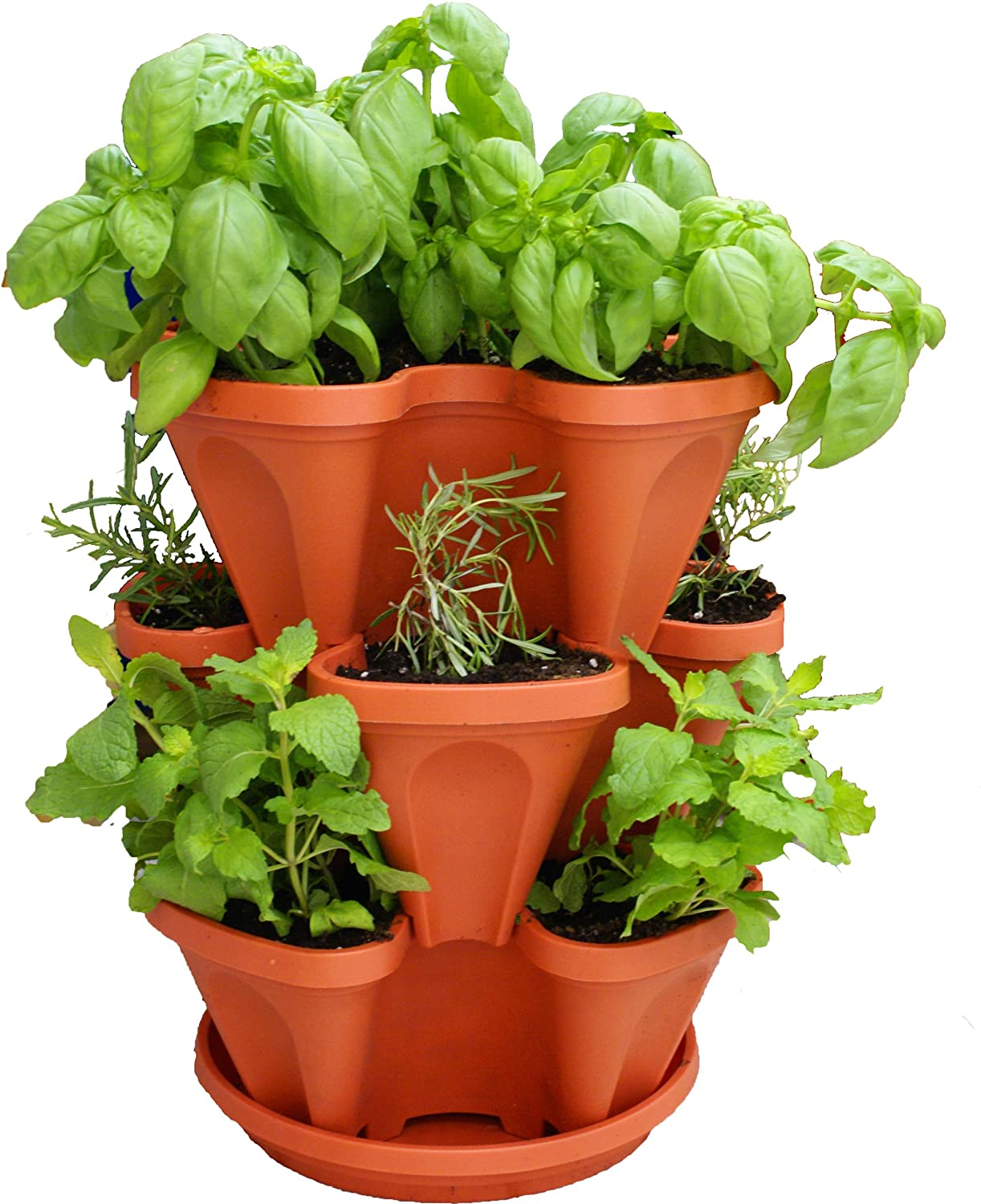 Hanging Vertical Stacking Planter