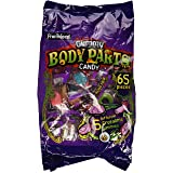 Frankford Gummy Body Parts Candy 60 Pieces Halloween Individually Wrapped (Tamaño: Single Pack)