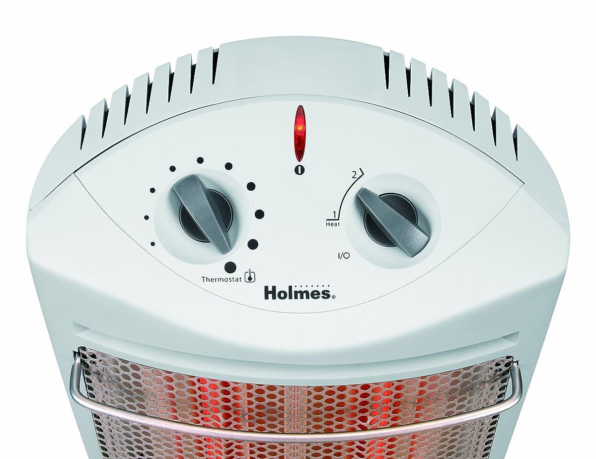 Holmes Quartz Tower Heater, White