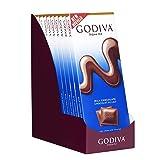 Godiva Chocolatier 90g Milk Chocolate Tablet Bar, 31.75 Ounce (Gift Pack of 10) (Tamaño: Pack of 10)