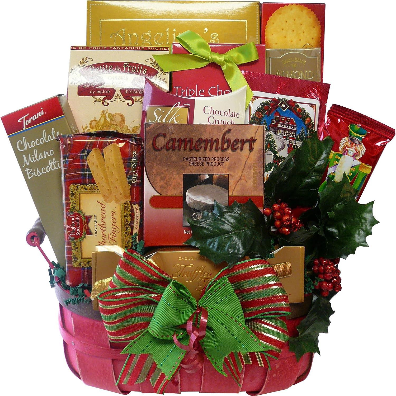 Favoritos festivo de Natal Gourmet férias Food Gift Basket