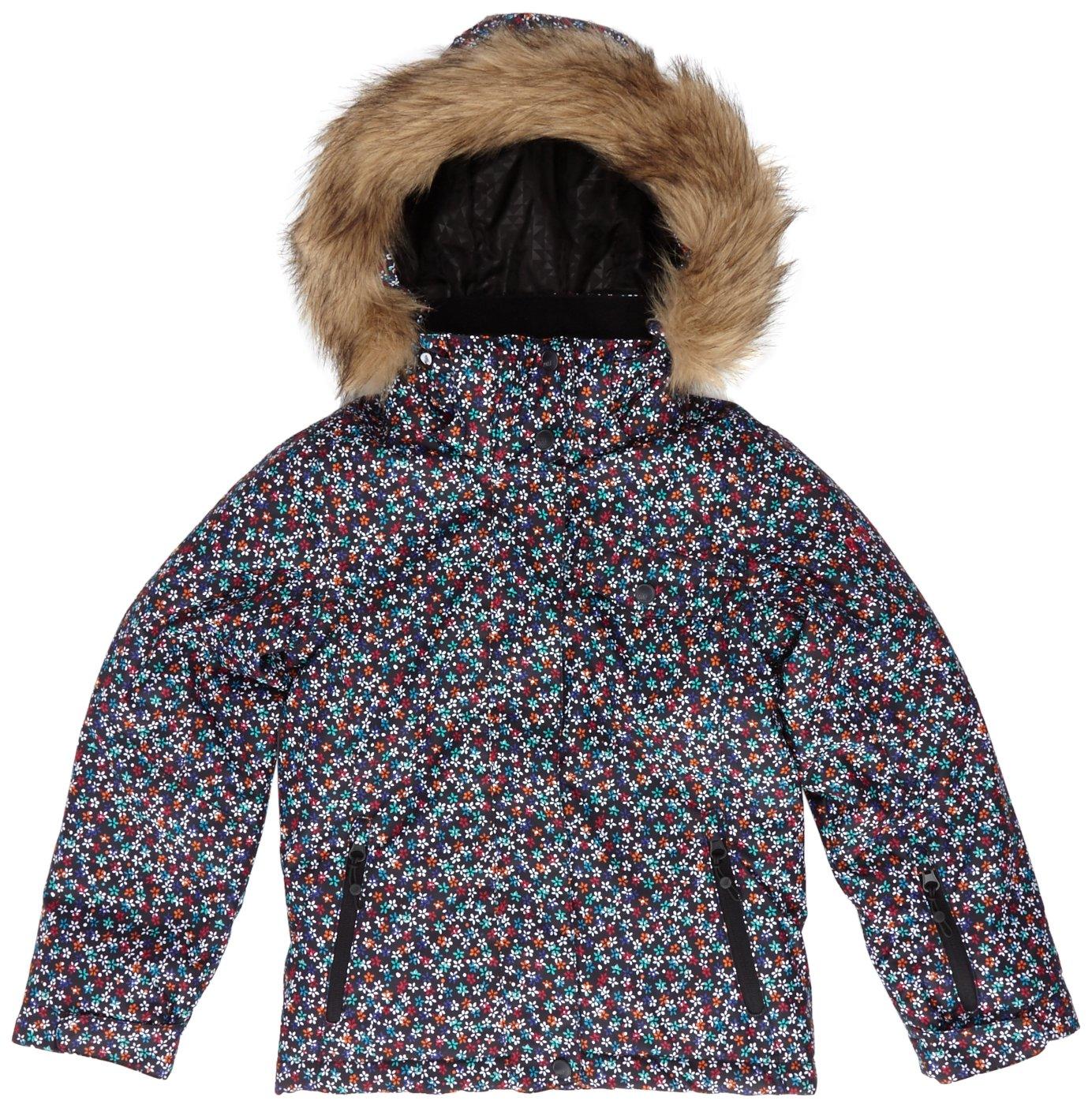 Roxy Mädchen Snowboardjacke Jet Ski Girl Jk Roses Are Roxy jetzt bestellen