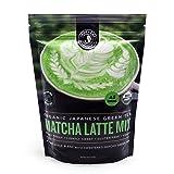 Jade Leaf - Organic Japanese Matcha Latte Mix - Cafe Style Sweetened Blend - Sweet Matcha Green Tea Powder [1lb Bulk Size] (Tamaño: 16 Ounce)