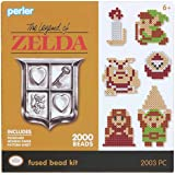 Perler 80-54244 Link Legend of Zelda Fused Bead Kit, 2002pc, None (Color: None)