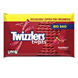 TWIZZLERS Strawberry Twists Licorice Candy, 32 Ounce (Tamaño: 32 Ounces)