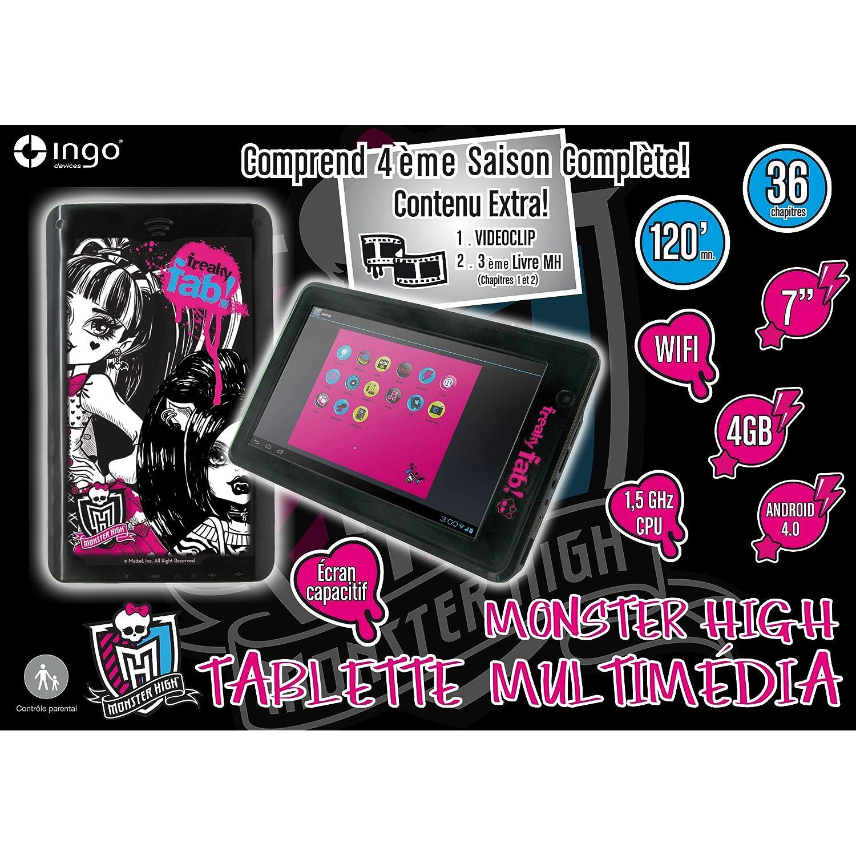 "Ingo Devices - Tablet 7"" Monster High C/ Conexion Internet Wifi, Usb Y Camara Digital 122-20137"