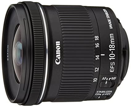 Canon Objectif EF-S 10-18 mm f/4,5-5,6 IS STM
