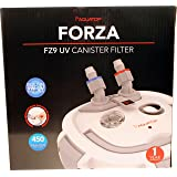 AQUATOP AQUATIC SUPPLIES Forza Multi-Stage Canister Filter With 9w Uv 450 GPH (Tamaño: 450 gph)