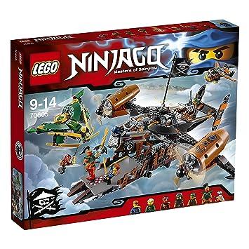 LEGO - 70605 - NINJAGO - Jeu de Construction - Le Vaisseau de la Malédiction