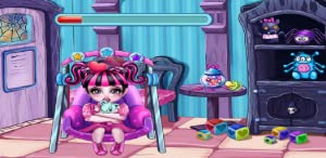 Monster High Baby Care 2-Princess Teeth Check, Baby Hospital by 吕丹