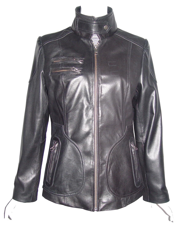 Nettailor WoHerren 4084 Lamm Leder Motorrad Jacke günstig online kaufen