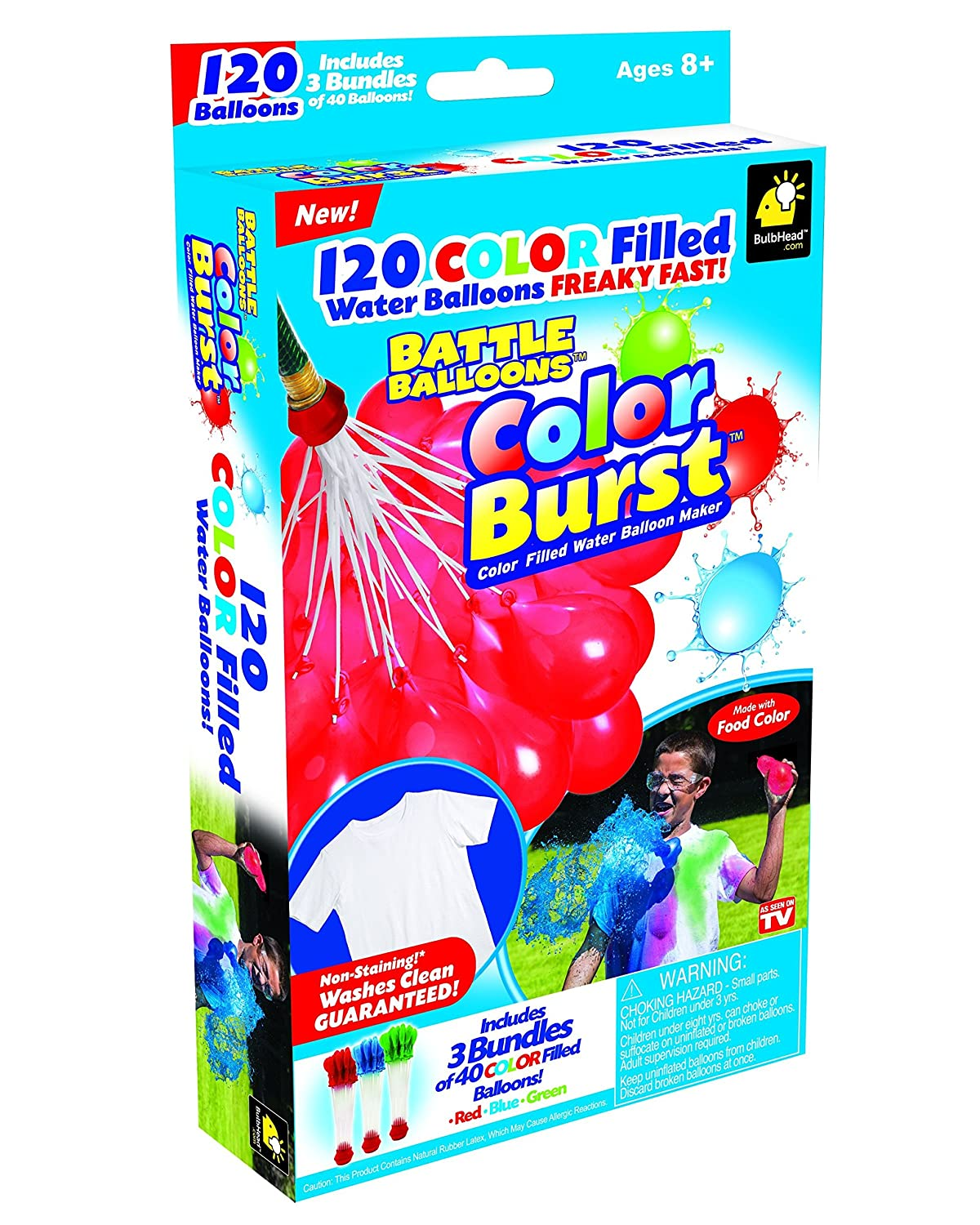Battle Balloons - Color-filled Water Balloons - Create Your Own Balloon Battle