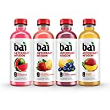 Bai Oasis Variety Pack, Antioxidant Infused Drinks, 18 Fluid Ounce Bottles, 12 count (3 Bottles each of Burundi Blueberry Lemonade, Sao Paulo Strawberry Lemonade, Kula Watermelon, Malawi Mango)