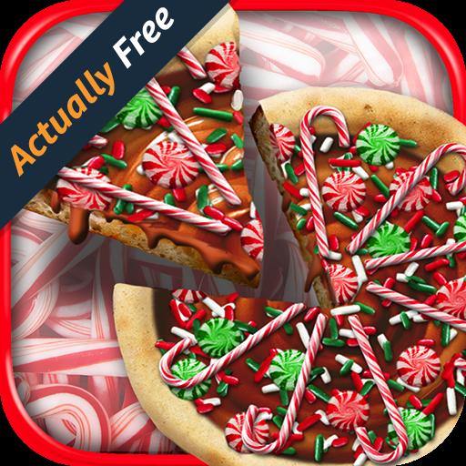christmas-candy-pizza-make-bake-santa-snowman-kids-dessert-kitchen-cooking-food-maker-restaurant-fre