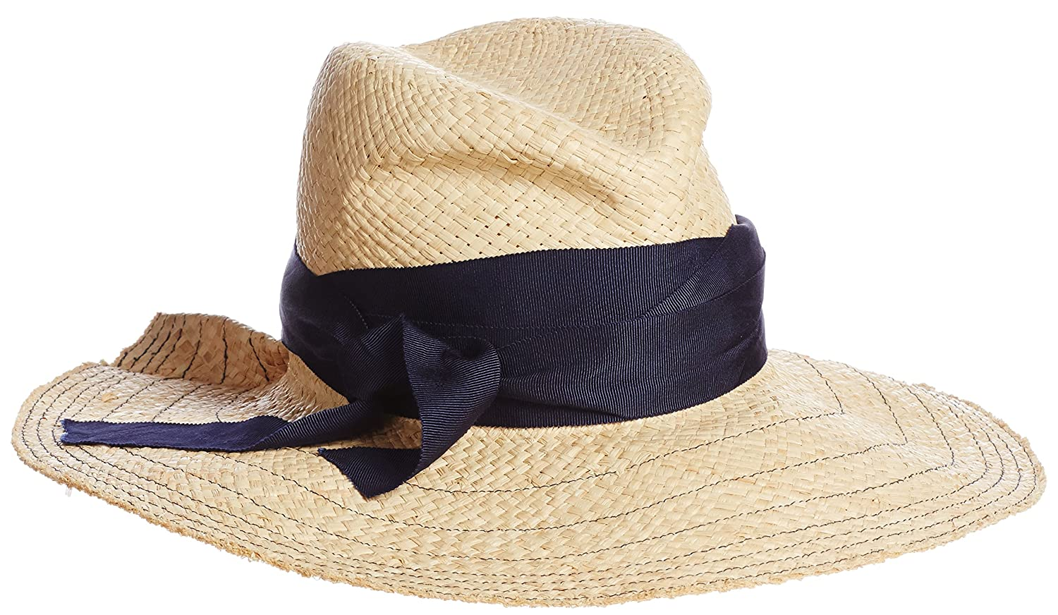 Amazon.co.jp: (ローラハット)Lola HATS(ローラハット) First AID Bis Hat 7729 Natural/NAVY 58.5cm: 服&ファッション小物通販