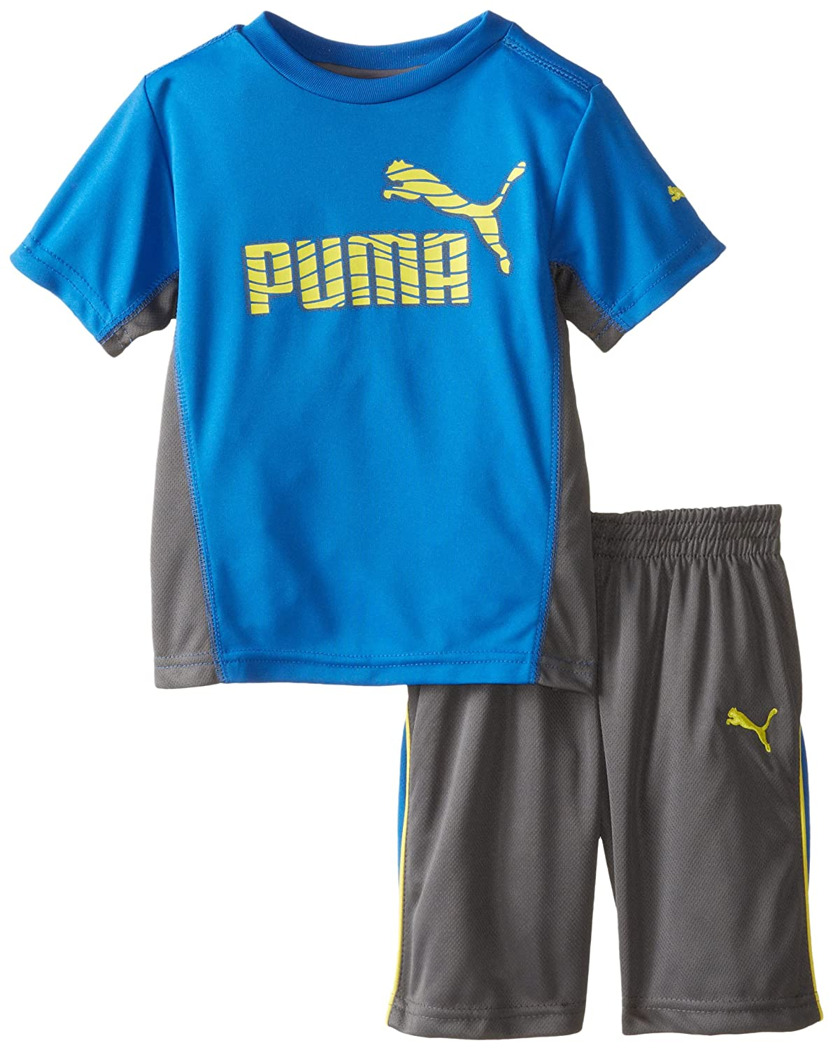 PUMA Little Boys' Number 1 Logo Short Set sports law in russia monograph