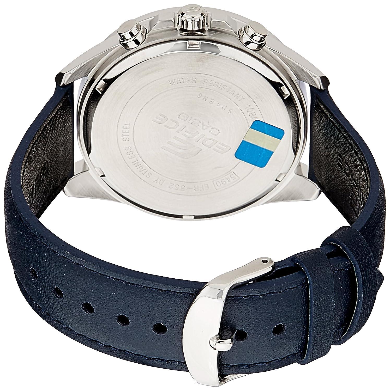 Casio Ex278 Edifice Analog Watch For Men Jam Tangan Fossil Ch2600 Decker Chronograph