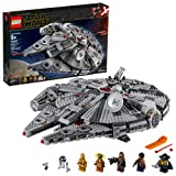 LEGO Star Wars: The Rise of Skywalker Millennium Falcon 75257 Starship Model Building Kit and Minifigures, New 2019 (1,351 Pieces) (Color: Multi)