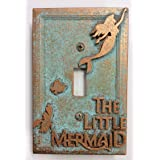 The Little Mermaid - Light Switch Cover (Aged Patina) (Color: Aged Patina)