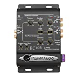 Planet Audio EC10B 2-Way Electronic Crossover With Remote Subwoofer Control (Tamaño: 10in. x 9.5in. x 2in.)